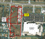 3 Buildings on 1.7 Ac Next Door To Lowes On Nine Mile Rd