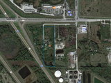 I-75 Laurel Rd interchange 3.8 ac. CI zoned